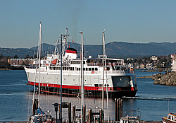 The Victoria-Seattle ferry